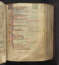 May, In The Calendar Of A Missal